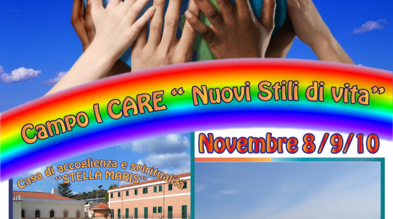 "8-10.11.2019: Campo I Care ""Nuovi Stili di vita"" – Alì Terme"